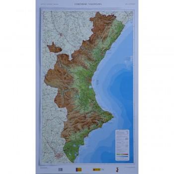 Mapa Comunidad Valenciana...