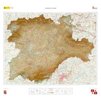Mapa Castilla y León...