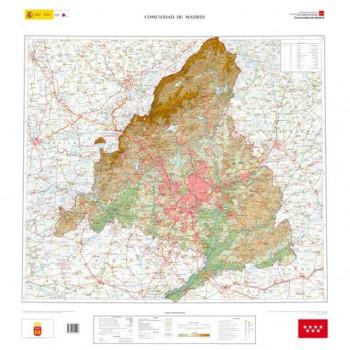 Mapa Comunidad de Madrid...