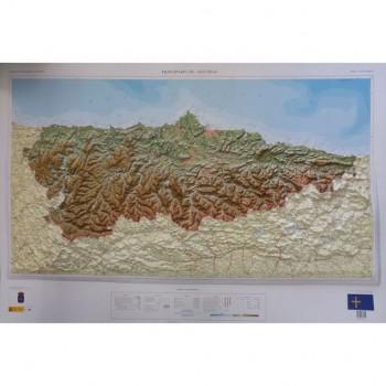 Mapa Principado de Asturias...
