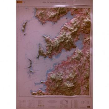 Mapa Rías de Pontevedra y...