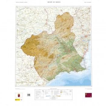 Mapa Región de Murcia...
