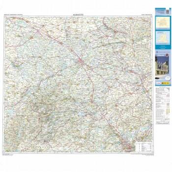 Mapa provincial Albacete...