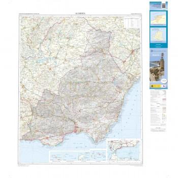 Mapa provincial Almería...