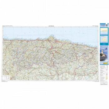 Mapa provincial Asturias...