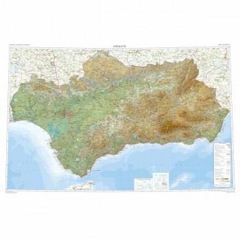 Mapa autonómico Andalucía...