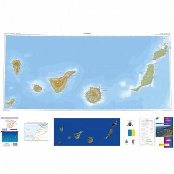 Mapa autonómico Canarias...