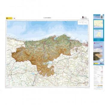Mapa autonómico Cantabria...