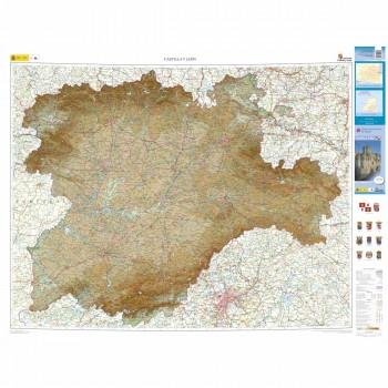 Mapa autonómico Castilla...