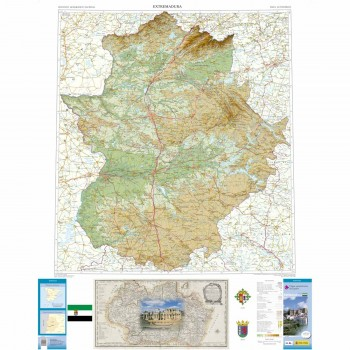 Mapa autonómico Extremadura...