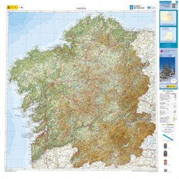 Mapa autonómico Galicia...