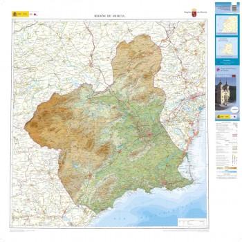 Mapa autonómico Murcia...