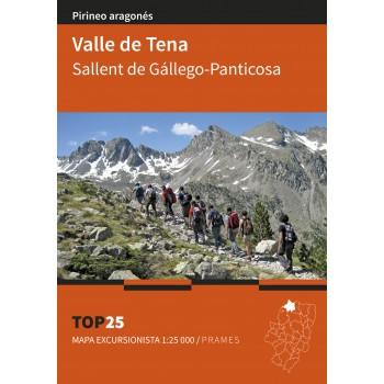 Mapa Top 25 Valle de Tena....