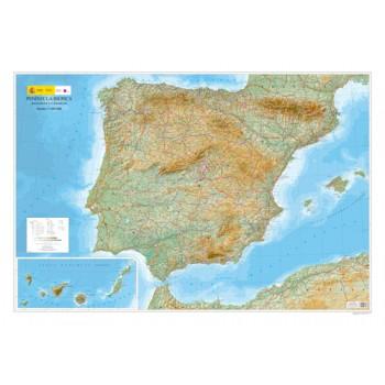 Mapa Península Ibérica,...