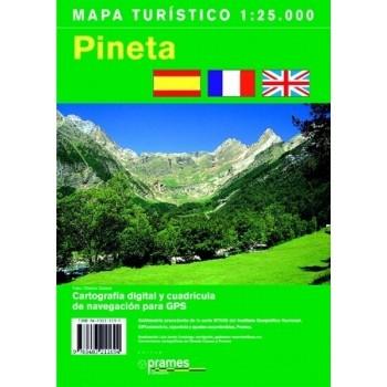 Mapa Turístico de Pineta