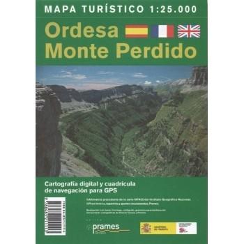 Mapa turístico de Ordesa y...