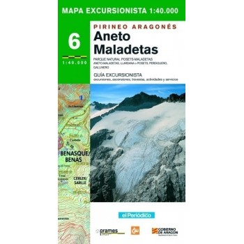 Aneto Maladetas nº 6. Mapa...