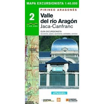 Valle del río Aragón....