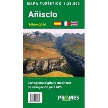 Mapa turístico Añisclo