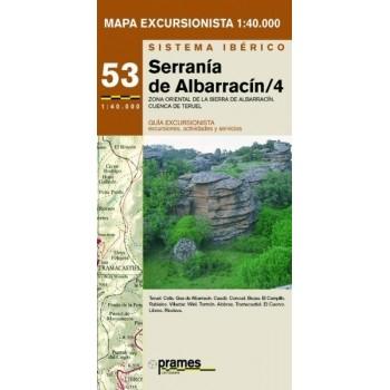 Serranía de Albarracín 4. Zona Oriental