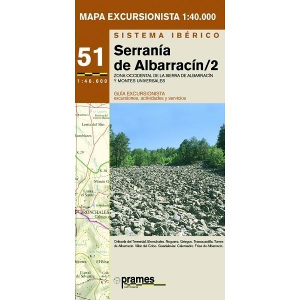 Serranía de Albarracín 2. Zona Occidental
