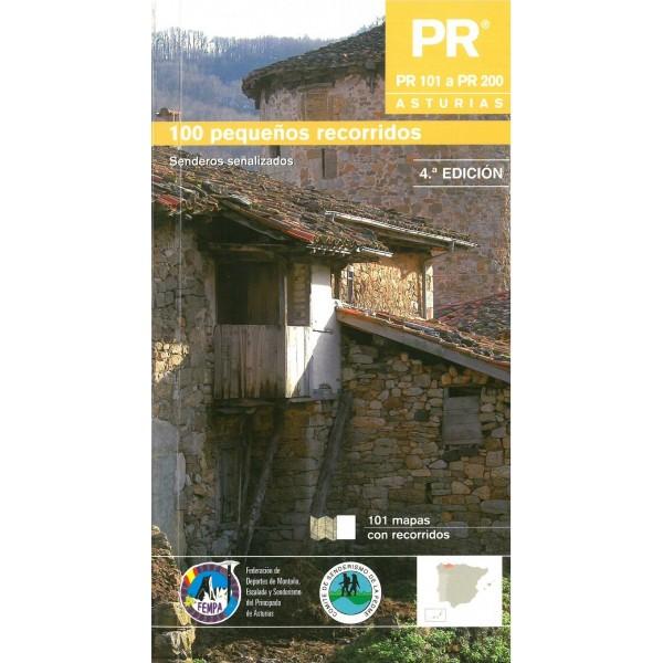 PR Asturias II. 100 pequeño recorridos. PR 101 a PR 200